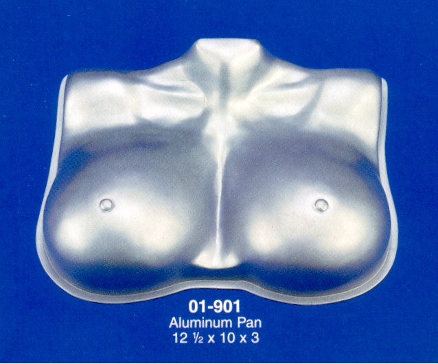 Breast penis cake pans