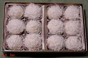 Снежные шоколадные трюфели