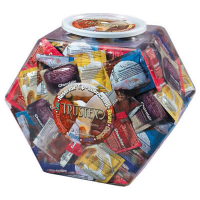 Flavoured Coloured Novelty Condoms