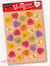Candyprints Adult Valentine Stickers