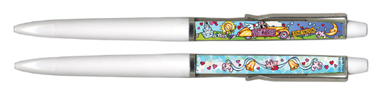 Floaty Pen Just Married Wedding