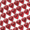 Madelaine Red Foil Milk Chocolate Hearts