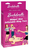 Midget Man Inflatable Ring Toss Game