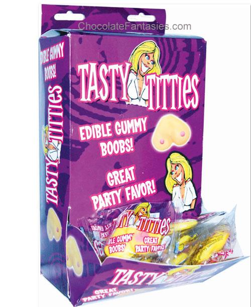 Gummy tits